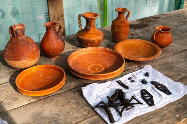 Краснолаковая посуда конца I первого начала II века нашей эры