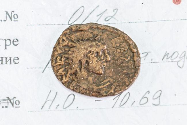 Монета второй половины III века нашей эры