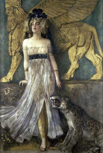 Чезаре Саккаджи, «Великая Семирамида, царица Ассирии»