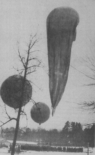 стратостат «Осоавиахим-1» перед стартом