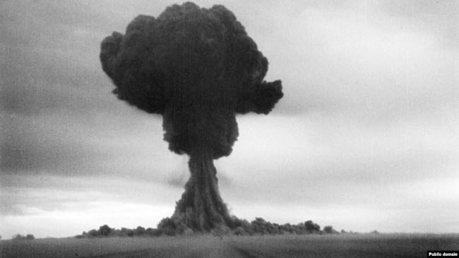 Семипалатинский полигон. Ядерное испытание 1949 года